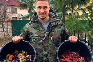 Здоровое питание: украинец выращивает съедобные цветы и продает в рестораны