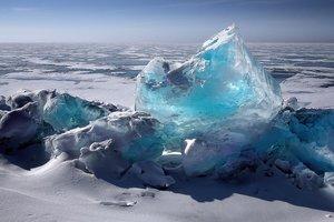 40 лет за минуту: ученые показали на видео движение айсбергов в мировом океане