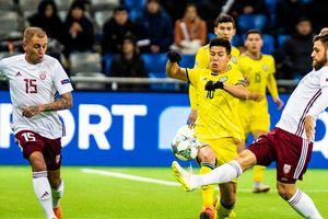Как Казахстан и Латвия играли вничью в Лиге наций: обзор матча