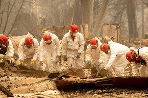 Пожары в Калифорнии: 130 человек пропали без вести, у родних берут образцы ДНК