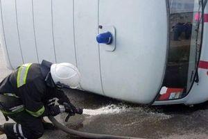 В Павлограде произошло жуткое ДТП со скорой помощью: машина едва не взорвалась