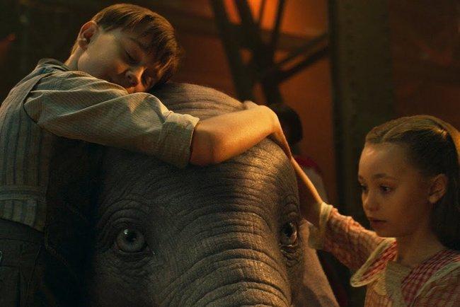 Disney обнародовал  трейлер нового фильма «Дамбо»