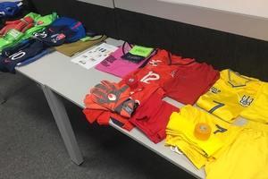 Желтые футболки и красный свитер: в какой форме сыграет сборная Украины