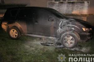 На Прикарпатье сожгли автомобиль депутата