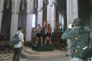 В Испании судят двух активисток FEMEN за голую грудь в церкви