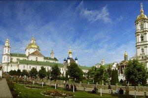 Полиция проверит законность передачи Почаевской лавры УПЦ МП