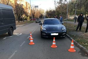 В Ужгороде водитель Porsche сбил школьницу