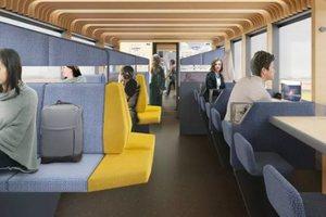 В Нидерландах придумали поезда-коворкинги, в которых можно будет работать: фото