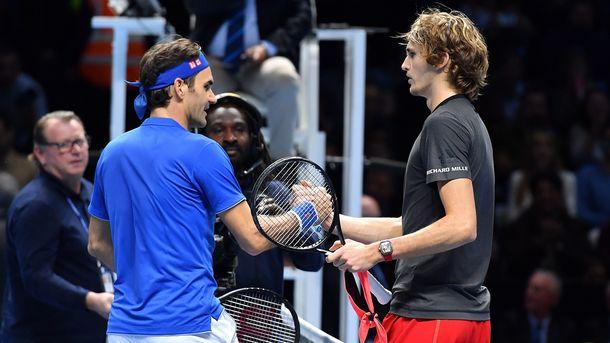 Djokovic & Zorb. AFP Photo