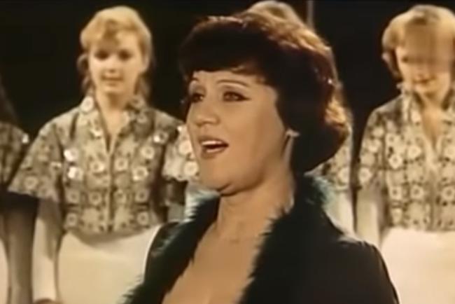 Diana Petrinenko. Photo: a video frame