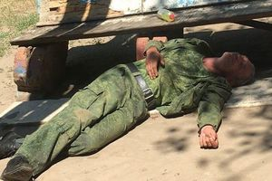 На Донбассе уничтожен российский наемник: офицер ВСУ показал фото