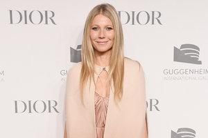 В роскошном наряде от Christian Dior: Гвинет Пэлтроу в Нью-Йорке