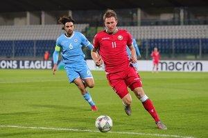 Драгун и Сарока отправили сборную Беларуси на повышение