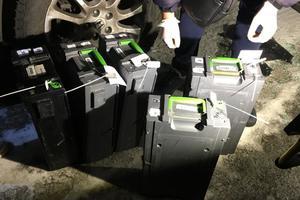 Налет на инкассаторов под Киевом: полиция задержала одного из грабителей
