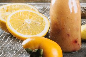 Рецепт дня: витаминный смузи из хурмы и мандаринов