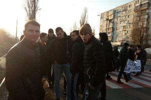 Из-за холодных батарей в Одессе перекрыли еще одну дорогу