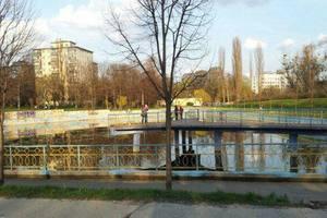 В парке на Соломенке едва не утонул мальчик