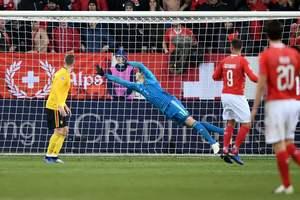 Обзор самого драматичного матча Лиги наций Швейцария - Бельгия