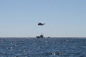В Азовском море пограничники ФСБ России задержали украинских рыбаков