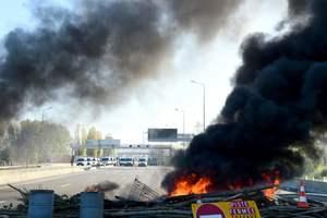 Третий день протестов во Франции: протестующие заблокировали нефтебазы