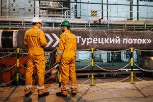 Россия достроила морской участок газопровода в обход Украины