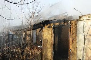 В Харьковской области горел жилой дом: погиб мужчина