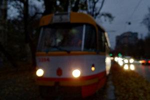 В Одессе из-за непогоды возник транспортный коллапс