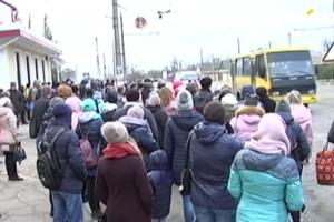 Транспортный хаос в Херсоне: большинство маршруток не вышли на рейсы
