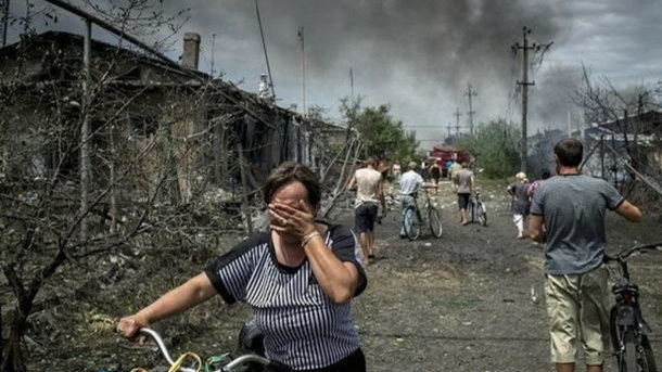 War in Donbass. Photo: AFP