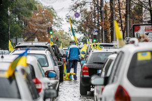 """""""Евробляхеры"""" разблокировали дороги госзначения"""