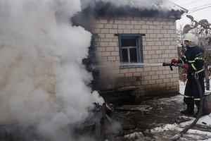 В Полтавской области вспыхнул жилой дом: погибла женщина