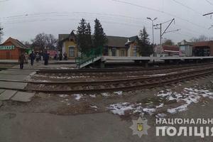 Под Киевом женщина попала под поезд