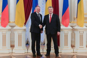 Порошенко и президент Словакии обсудили газовые вопросы