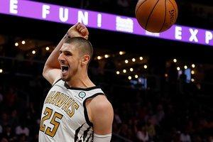 Украинец Лэнь, выйдя в матче НБА со скамейки, обошел игроков стартовой пятерки по очкам