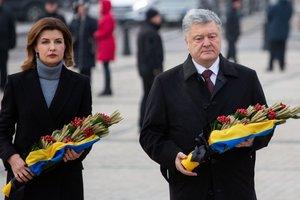 Как Порошенко с супругой почтили память жертв Голодомора, опубликованы фото