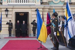 Порошенко встретился с президентом Латвии (ОБНОВЛЕНО)
