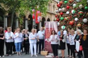 В Сиднее украинцы зажгли свечи в день памяти жертв Голодомора