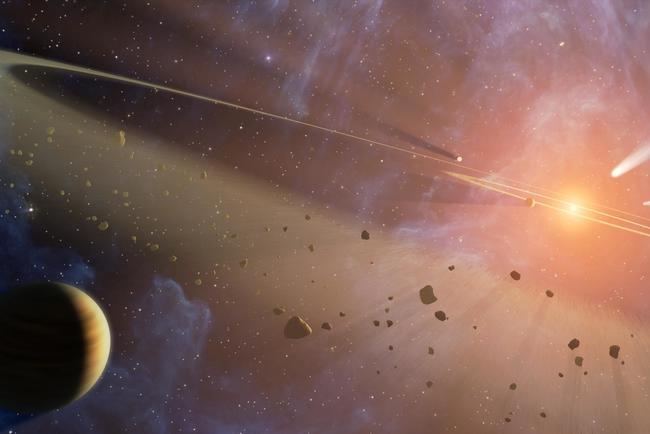 У системы HR 8799 впервые рассмотрели все планеты