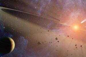 Ученые впервые увидели инопланетную систему: фото