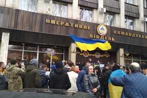 В Одессе прошла акция в поддержку украинских моряков