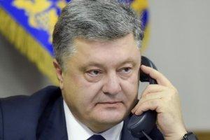 Порошенко обсудил агрессию России с Туском и Дудой