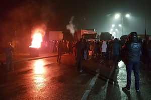"""""""Евробляхи"""" блокируют границу: к чему приведут протесты сторонников дешевых авто"""