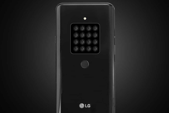 LG is preparing a prototype device with 16 cameras. Photo: GadgetMatch