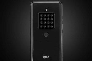 LG готовит смартфон с огромным количеством фотокамер