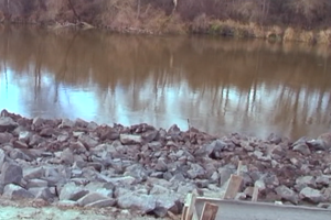 В Волынской области течение реки размывает берега: под угрозой 5 тысяч гектаров земли