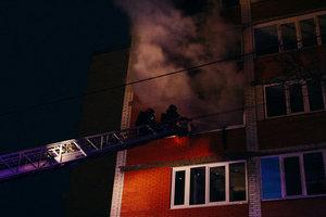 В Тернополе из-за пожара в доме эвакуировали почти полсотни человек