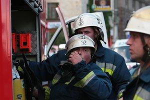 В Киеве произошел пожар в здании Минфина, сотрудников эвакуировали