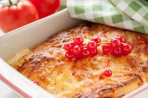 Рецепт дня: сладкая лазанья с творогом