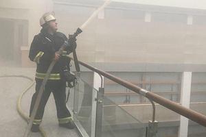 Пожар в Минфине: документы и техника не сгорели