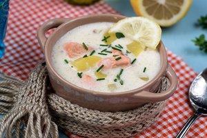 Как приготовить финский рыбный суп с лососем